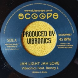 Boney L - Jah Light Jah...