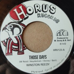 "Winston Reedy - Those Days 7"""