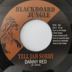 """Danny Red - Tell Jah Sorry 7"""""""