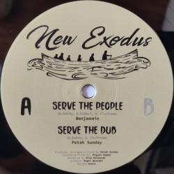 "Benjammin - Serve The People 12"""