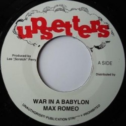 Max Romeo - War in Babylon 7""