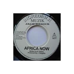 Jack Radics - Africa Now 7''