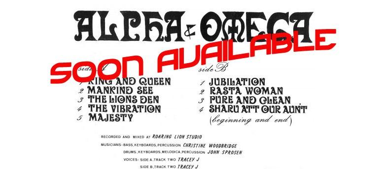 Alpha & Omega - King & Queen LP